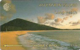 Ascension Isl. - Long Beach, 6CASB, 1994, 5.000ex, Used