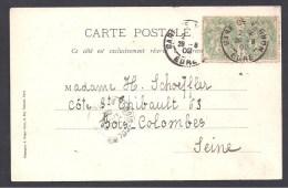 EURE - Cachet  Gare De Vernon - Marcophilie (Lettres)
