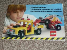 """Vintage Catalogue """"technical Set"""" Technique LEGO De 1982 Duplo - Catalogues"""