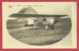 Evere - Champ D'Aviation  -Moto-Aviette Mulot ( Voir Verso ) - Evere