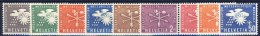 ##B763. Schweiz 1956-60. OMM / WMO. Michel 1-9. MNH(**) - Service