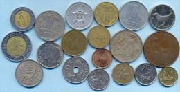 Mixed Countries Coins Set (19 Coins) - Monnaies