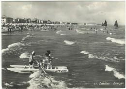 """1951, Rimini, """"Cattolica - Spiaggia"""" - Rimini"""