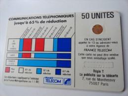 RARE :LE CADRE DE NUMEROTATION EN POINTILLE  SUR CORDONS BLANC SC4 Or Fb Sans Ent 50U - Variëteiten