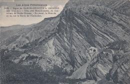 CPA 04 - VALLÉE De L'UBAYE - Ligne En Construction Du Chemin De Fer De Chorges à Barcelonnette - Tunnel De Roche-Rousse - France
