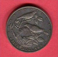 ILES COOK 5 DOLLARS 1978 ( Y 20)  TTB /SUP 58 - Cook