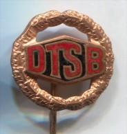DTSB - Deutsches Turn Und Sportfest, Ex DDR East Germany, Vintage Pin Badge, Enamel - Badges