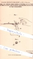 Original Patent   - Charles Midforth Beaumont In Hull , England , 1893 ,  Spielzeugfigur !!! - Army