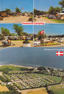 Aarosund Camping - Lot Of 2 Postcards - Danemark