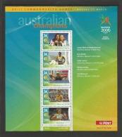 Australien 2006  Mi.Nr. 2573 / 77 , Sydney XVIII Commonwealth Games - Sheet Of 5 - Postfrisch / MNH / Mint / (**) - Neufs