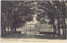 72 - Asnières-sur-Vègre - (Sarthe) - Entrée Du Parc De Moulin-Vieux - Sonstige Gemeinden