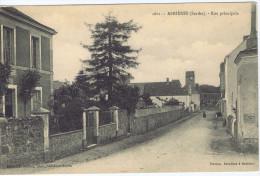 72 - Asnières-sur-Vègre - (Sarthe) - Rue Principale - Sonstige Gemeinden