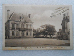 CP 35  JANZE  - La Mairie Et La Tour St Michel  1945 - édition Fertard Imp. Photo , Janzé - Otros Municipios