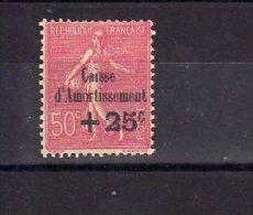 "France (1929)  -  ""Caisse D'Amortissement""  Neuf* - France"