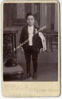 CDV Communiant--photographie Peigné Saint Nazaire - Antiche (ante 1900)