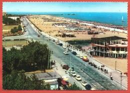 CARTOLINA VG ITALIA - RIMINI - Lungomare E Bagni Nettuno - 10 X 15 - ANNULLO RIMINI 1966 - Rimini