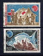 MADAGASCAR - A135/136° - SCOUTISME - Madagascar (1960-...)