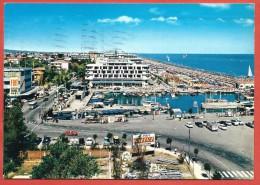 CARTOLINA VG ITALIA - RICCIONE (RN) - Panorama - 10 X 15 - ANNULLO RICCIONE 1966 - Rimini