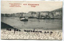 - Herstal - Le Bassin De Cornmeuse, Péniche, Précurseur, écrite, Pub Aux Économes Liège, BE, Scans. - Herstal