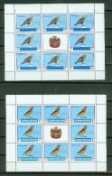 Slobodna CRNA Gora 2000,16V In 2 Sheetlets,birds,vogels,vögel,oiseaux,pajaros,uccelli,aves,MNH/Postfris(L1482) - Unclassified
