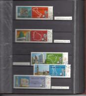 Collection De + 370 VIGNETTES TIMBRES MONDE  - - -  FOOTBALL - - - Dans Un Album - Stamps