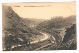 Vielsalm, Fosse Roulette, Vue Sur Salm-Château, Circulée En 1924 - Edit. Baccus, Vielsalm - Vielsalm