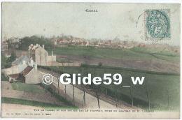 CASSEL - Vue De Cassel Et Son Entrée Par Le Tramway, Prise Du Chateau De M. Lorentz - N° 4360 - Cassel