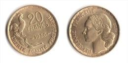 ** 20 FRANCS GEORGES GUIRAUD 1950 3 Faucilles En SUP **2** - L. 20 Francs