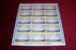 FEUILLE  COMPLETTE DE GUINEE EQUATORIALE  °°  THEME   DU SPORT - Guinea Equatoriale