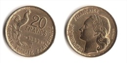 ** 20 FRANCS G.GUIRAUD 1953 B En TTB+ **10** - L. 20 Francs