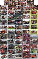 A04391 China Phone Cards Fire Engine Puzzle 236pcs - Firemen