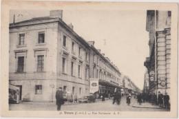 Cpa,indre Et Loire,tours,rue Nationale,policier Qui Dirige La Circulation,en1937