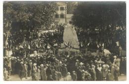 BOUCHES-DU-RHÔNE  /  SAINT-REMY-de-PROVENCE  /  INAUGURATION  DU  MONUMENT  AUX  MORTS , LE  29  MAI  1921 / CARTE-PHOTO