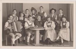 Carte Photo,autriche,imsbruck,1 952,tiroler Sanger Und Tanzer,,blaas,, - Non Classés