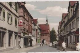 Cpa, Allemagne Lahr Im Schwarzwald,kaiserstrabe Und Rathaus,rare,germany,bade Wurtemberg