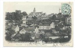 14/ CALVADOS... FALAISE. Le Moulin Elie Et L'Eglise Saint Gervais - Falaise
