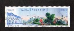 Timbre Oblitéré Haut Rhin De Rixheim - Gebruikt