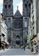 Clermont Ferrand : Rue Des Gras & Perspective Sur La Cathédrale (n°14 éd Artaud) - Clermont Ferrand