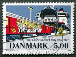 Denmark  1997  MiNr.1157 (O)  Eisenbahn /Railway / Chemin De Fer ( Lot A43 ) - Oblitérés