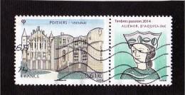 Timbre Oblitéré  (Palais Des Papes - Avignon) - Gebruikt