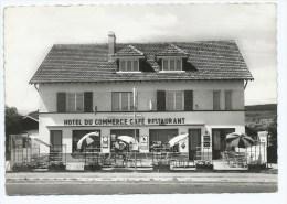 CPSM ANOULD, HOTEL DU COMMERCE CAFE RESTAURANT, PUB BIERE DU PECHEUR, VOSGES 88 - Anould