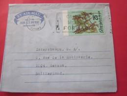 1977 Georgestown GUYANA GUYANE Amérique Du Sud Letter Lettre Aérogramme  By Air Mail To Genéve Suisse  Helvetia - Guyane (1966-...)