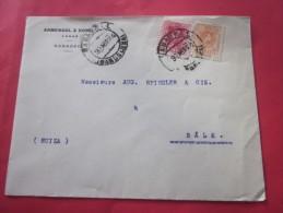 30 Avril 1924  SABADELL Espagne Espana Letter>A. SPINDLER à Bale BASEL Suisse Helvetia - 1889-1931 Royaume: Alphonse XIII