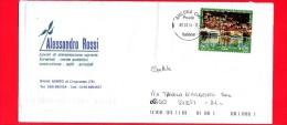 ITALIA ~ Storia Postale ~ Busta Del 2014 ~ { 2014 - Turismo - 0,70 € • Lovere ) - 6. 1946-.. Repubblica