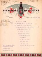 "0695 ""MENU"" ST. RAPHAEL QUINQUINA - 1936.  ORIGINALE - Menu"