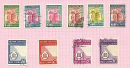 Vietnam Du Sud N°75 à 84 Cote 2.95 Euros - Vietnam