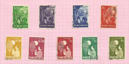 Vietnam Du Sud N°85 à 93 Cote 2.40 Euros - Vietnam
