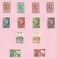 Vietnam Du Sud N°94 à 105 Cote 3.60 Euros - Vietnam