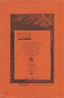 """0700 """"MENU"""" HOTEL DE PARIS G. FALCONNET. DISSIN DE L´ALMANACH DU COMBATTANT. ORIGINALE 1936 - Menu"""