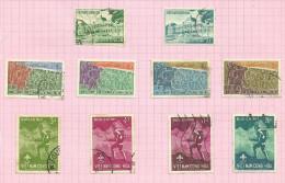 Vietnam Du Sud N°120 à 129 Cote 4.70 Euros - Vietnam